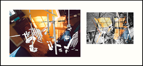 LightJet prints on photographic paper, approx. 78.75 x 160 cm, framed together, 2005.